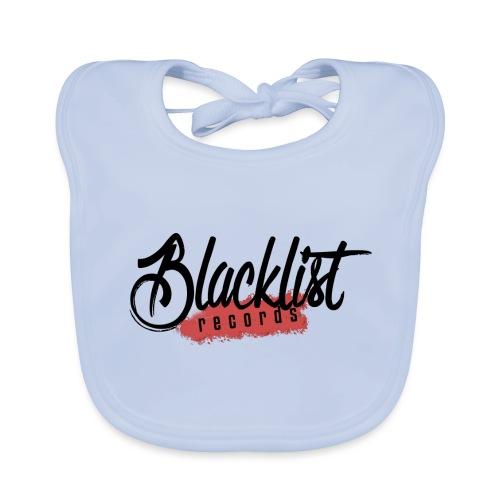 Blacklist Records - T-Shirt (Logo Noir) - Bavoir bio Bébé