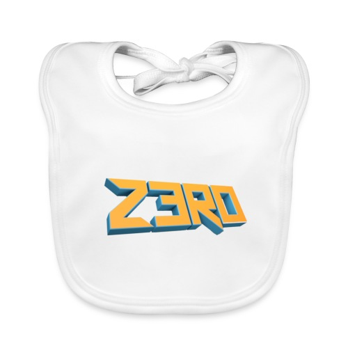 The Z3R0 Shirt - Baby Organic Bib