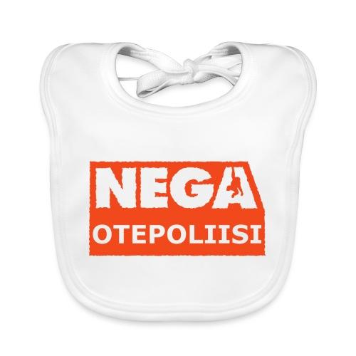 OtePoliisi - Vauvan luomuruokalappu