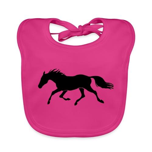Cavallo - Bavaglino ecologico per neonato
