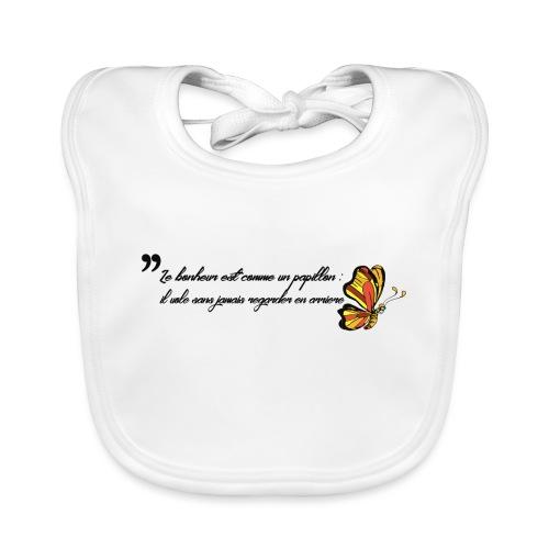 Papillon de bonheur - Bavoir bio Bébé