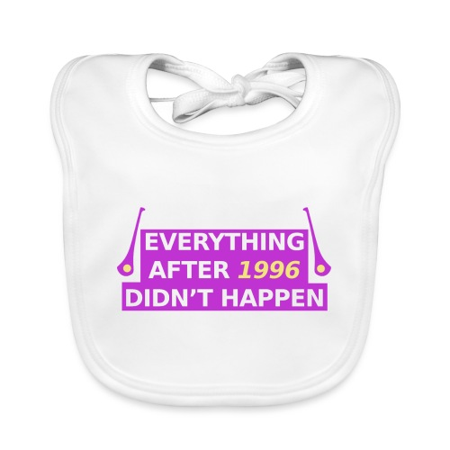 GAA Everything After 96 - Baby Organic Bib