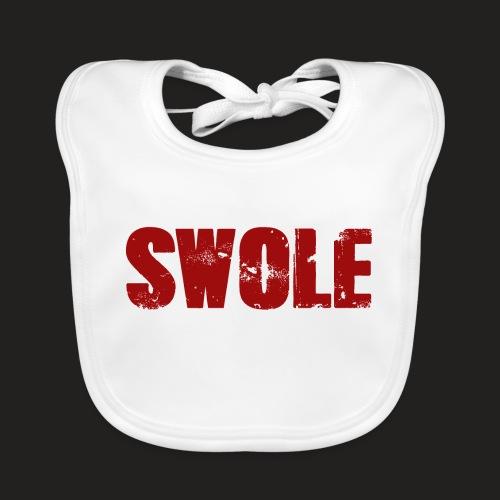 SWOLE RED - Baby Organic Bib