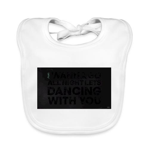 test dancing - Ekologiczny śliniaczek