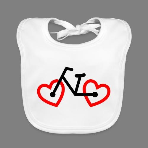 Bike Love - Baby Bio-Lätzchen