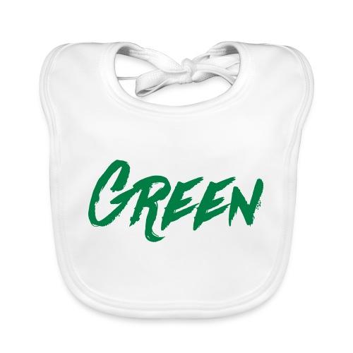 green-scritta-verde - Bavaglino