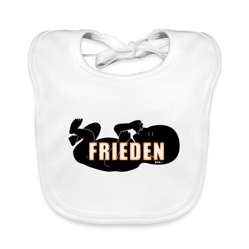 59_Geboren_Frieden - Baby Bio-Lätzchen