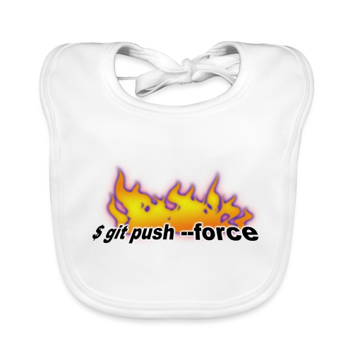 git push force - Baby Organic Bib