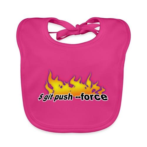 git push force - Baby Organic Bib