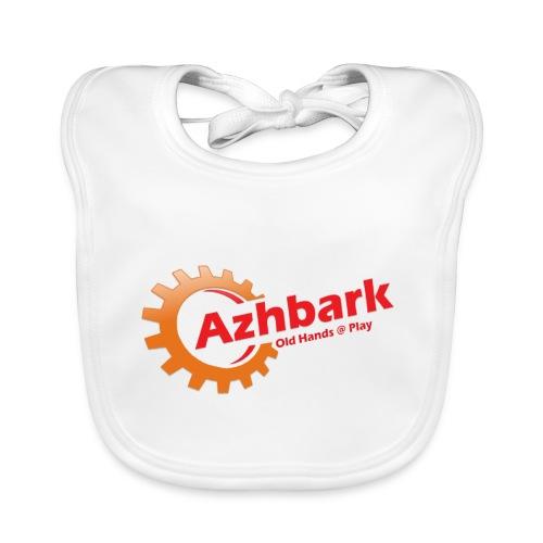 Azhbark Logo - Baby økologisk hagesmæk