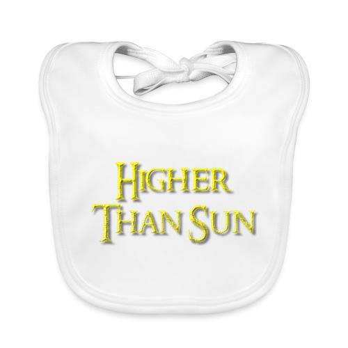 Higher Than Sun - Baby Organic Bib