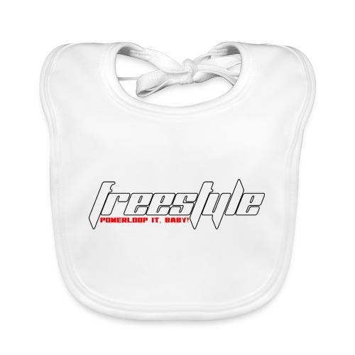 Freestyle - Powerlooping, baby! - Baby Organic Bib