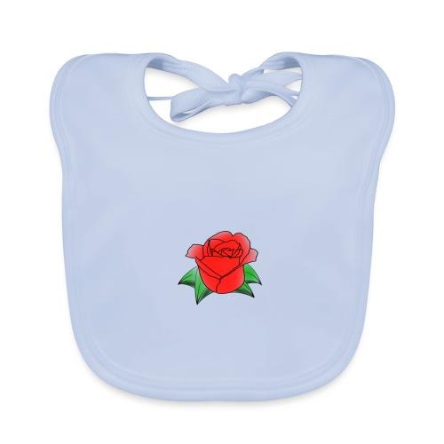 Rosa - Bavaglino ecologico per neonato