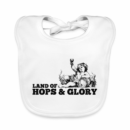 Land of Hops & Glory - Organic Baby Bibs