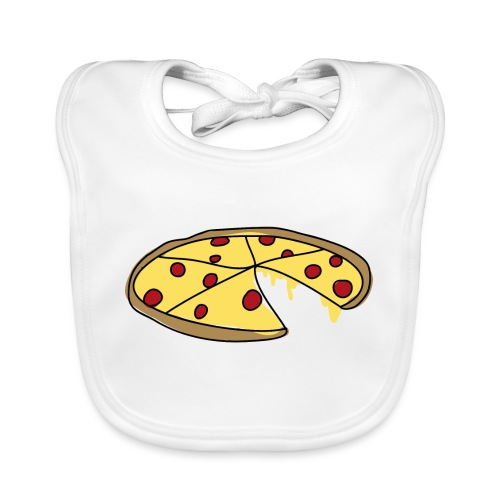 Pizza_V1_gross - Baby Bio-Lätzchen