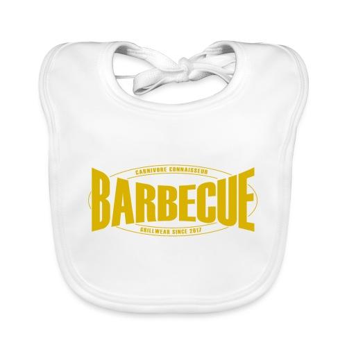 Barbecue Grillwear since 2017 - Grillshirt - T-Shi - Baby Bio-Lätzchen