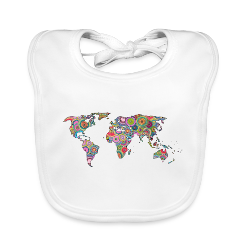 Hipsters' world - Baby Organic Bib