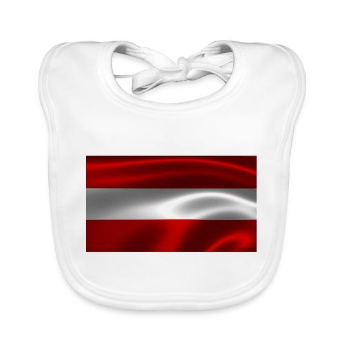 Austria I Love Austria - Baby Bio-Lätzchen