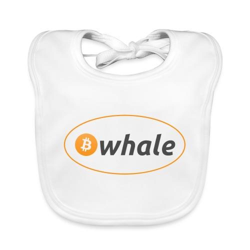 Bitcoin Whale - Organic Baby Bibs