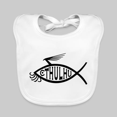 Cthulhu Fisch nP - Baby Bio-Lätzchen