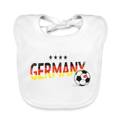 Fußball Weltmeister Fan Deutschland - Baby Bio-Lätzchen