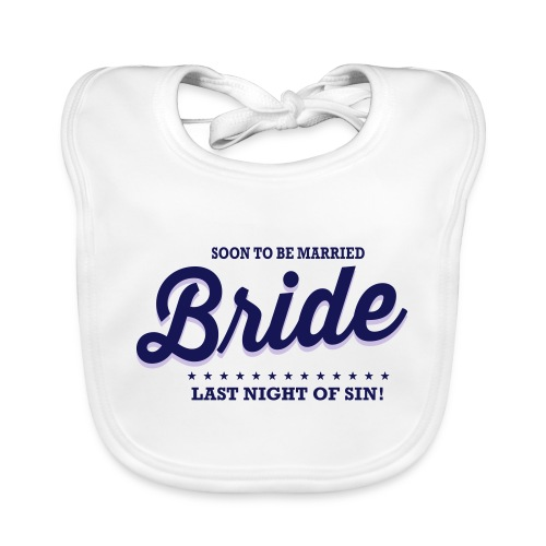 Bride vrijgezellenfeest - Bio-slabbetje voor baby's
