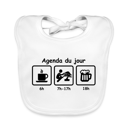 tshirt_picot_agenda - Bavoir bio Bébé