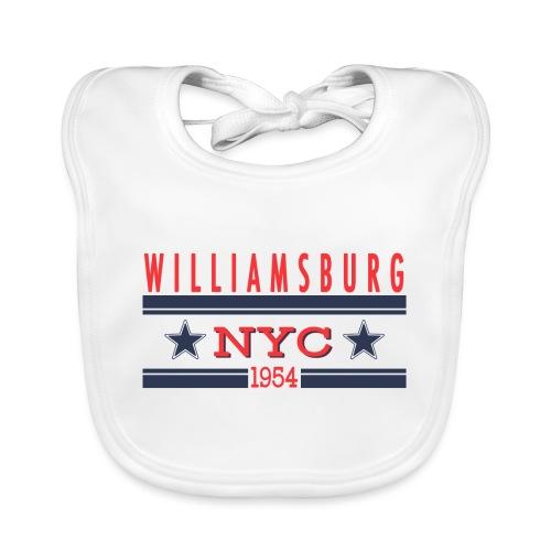 Williamsburg Hipster - Baby Bio-Lätzchen