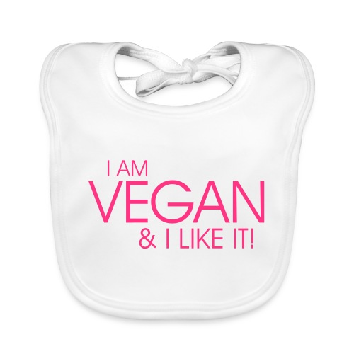 I am vegan and I like it - Baby Bio-Lätzchen