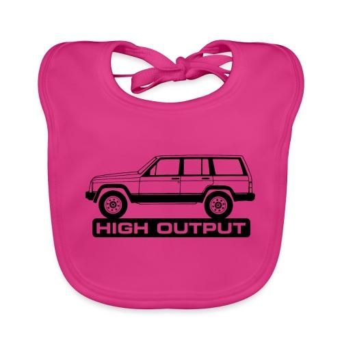 Jeep XJ High Output - Autonaut.com - Baby Organic Bib