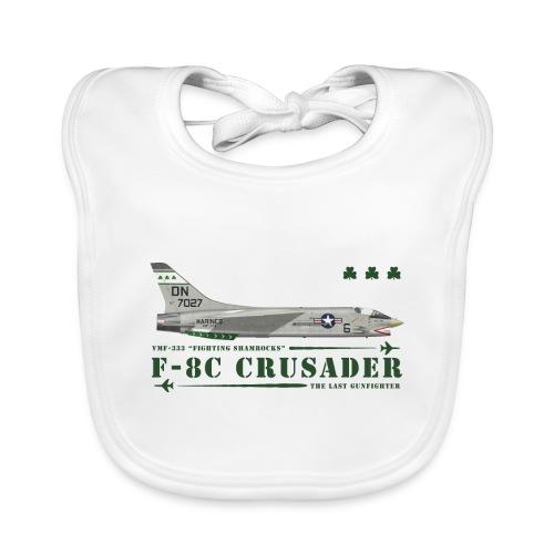F-8C Crusader VMF-333 - Organic Baby Bibs