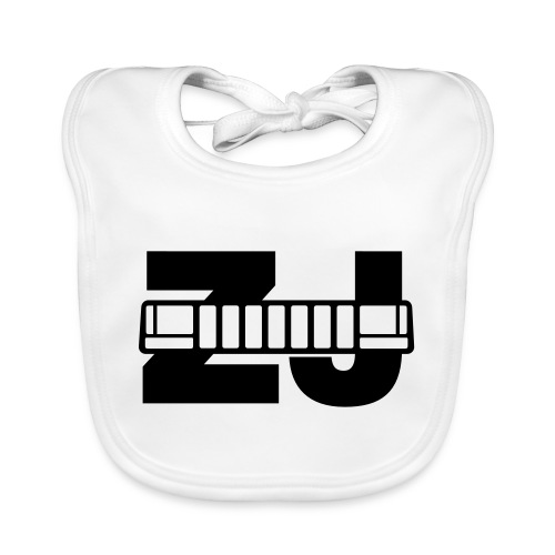 Jeep ZJ grill - Baby Organic Bib