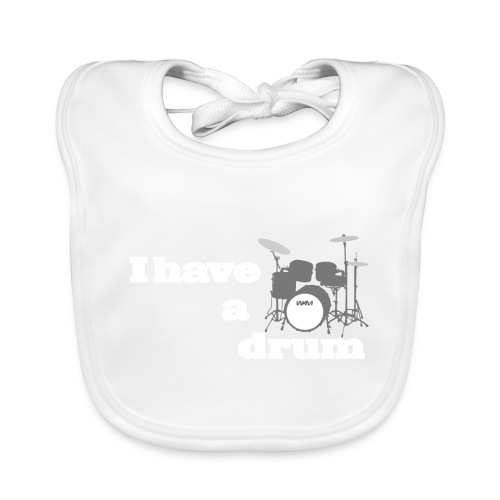 i have a drum - Organic Baby Bibs