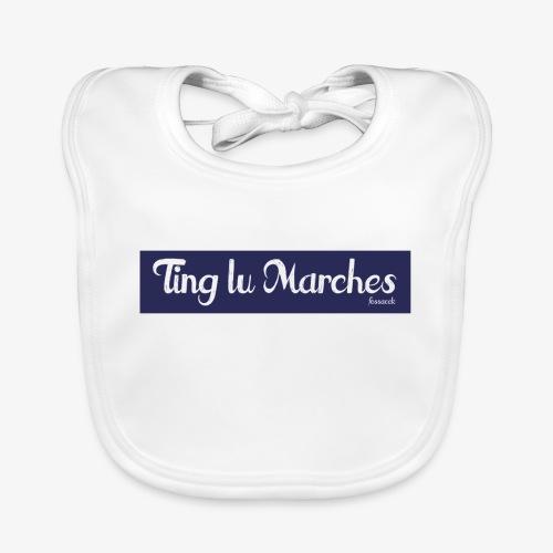 Ting lu Marches - Bavaglino ecologico per neonato