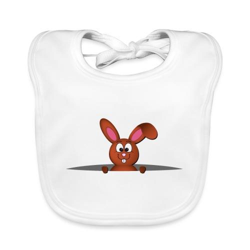 Cute bunny in the pocket - Bavaglino