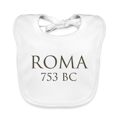 Nadruk Roma (Rzym) | Print Roma (Rome) - Ekologiczny śliniaczek