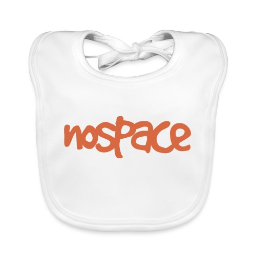 Nospace Orange By Dougsteins - Organic Baby Bibs