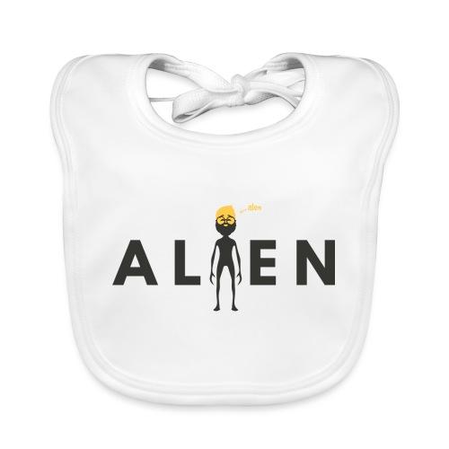 ALEN the Alien by Dougsteins - Organic Baby Bibs