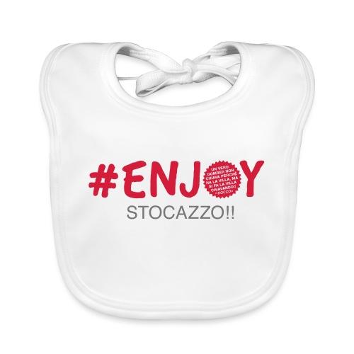 EnjoyStoCazzo 1 - Bavaglino ecologico per neonato
