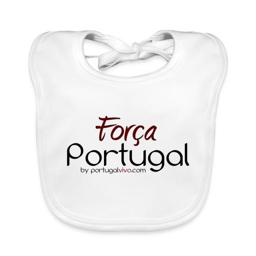 Força Portugal - Bavoir bio Bébé