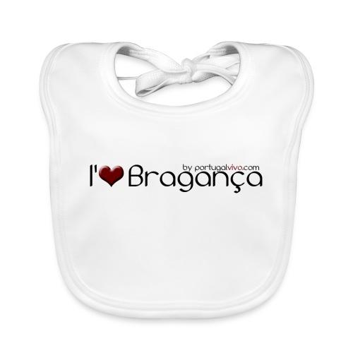I Love Bragança - Bavoir bio Bébé