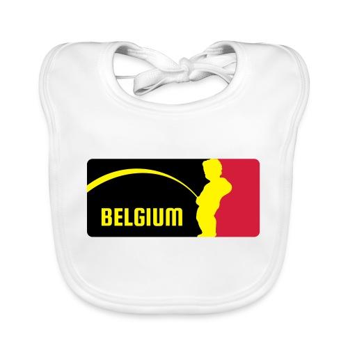Mannekke Pis, Belgium Rode duivels - Belgium - Bel - Bavoir bio Bébé