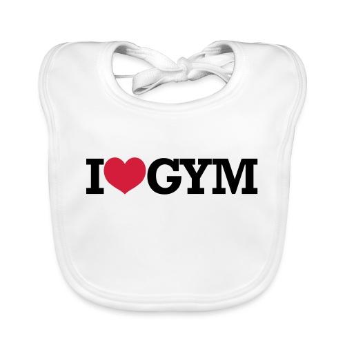 I Love Gym - Bodybuilding, Crossfit, Fitness - Baby Bio-Lätzchen
