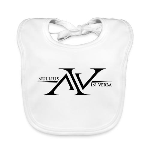 Nullius In Verba Logo - Baby Organic Bib