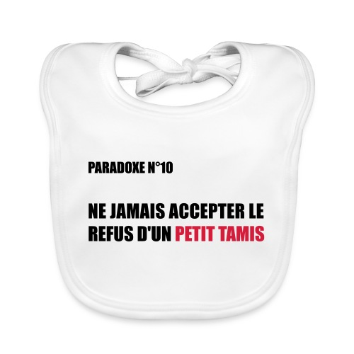 PARADOXE PETIT TAMIS - Bavoir bio Bébé