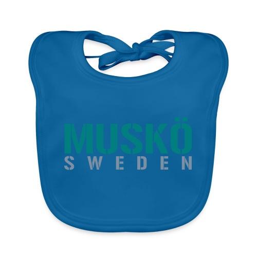 Muskö Sweden - Ekologisk babyhaklapp