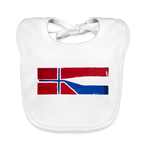 VHEH - CONNECTION (Norwegian Dutch Flag) - Organic Baby Bibs