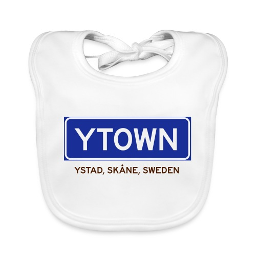 Ystad, Badly Translated - Ekologisk babyhaklapp