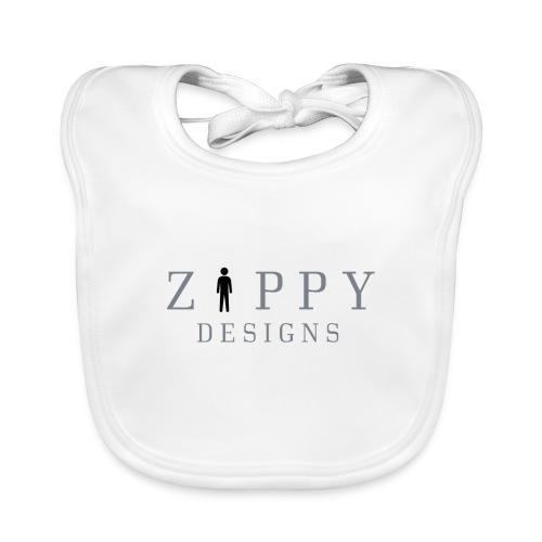 ZIPPY 2 - Babero de algodón orgánico para bebés