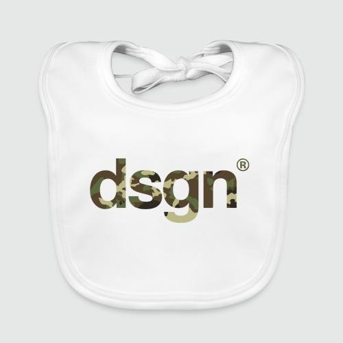 DSGN_04_CAMO_WHITE - Bio-slabbetje voor baby's